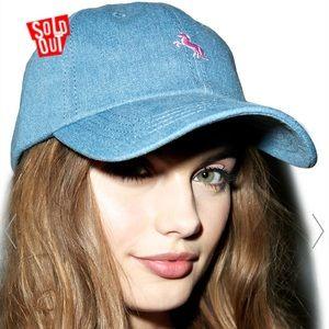 Unicorn Denim Hat